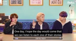 Namjoon and stories